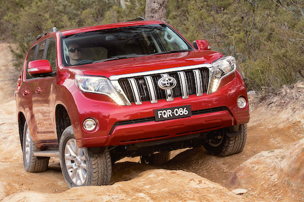 Toyota Prado Kuwait April 2016. Picture courtesy caradvice.com.au