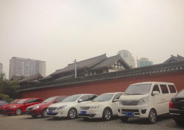 Chengdu street scene 3 Chengdu China 2016