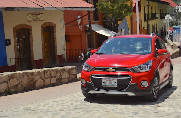Chevrolet Spark Mexico June 2016. Picture courtesy americanbrands.com
