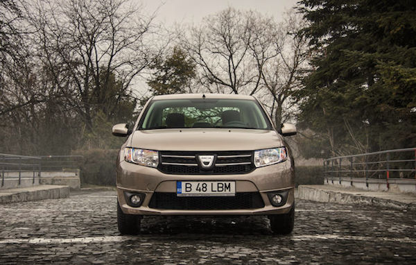 Dacia Logan Romania May 2016. Picture courtesy automarket.ro