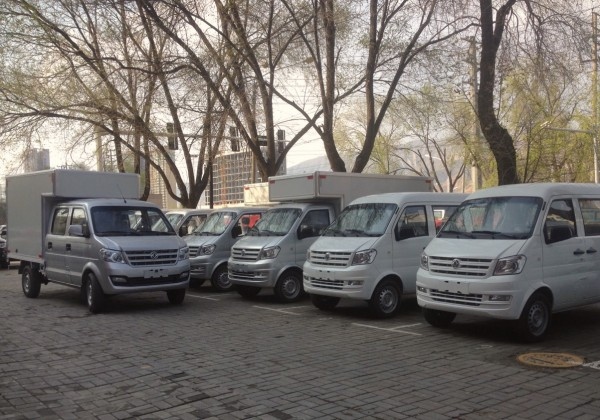 Dongfeng LCV Xining China 2016