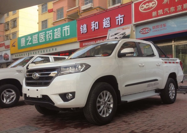 Foday F22 Pickup Xining China 2016 pic2