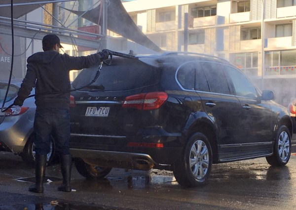 Haval H8 Washing