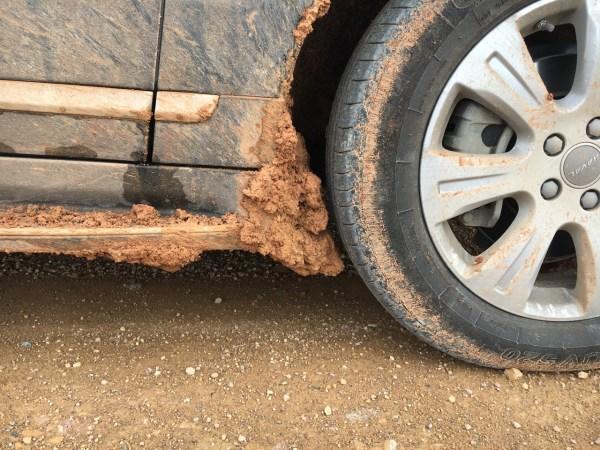 Haval H8 mud 4