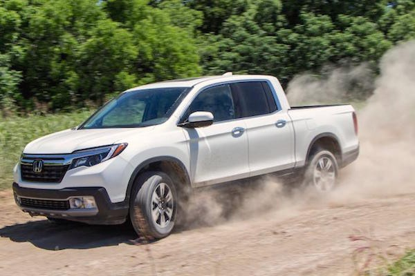 Honda Ridgeline USA June 2016. Picture courtesy nydailynews.com