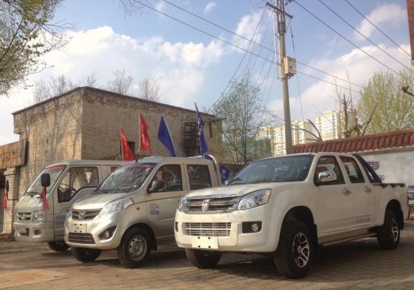 Jinbei dealership Xining China 2016