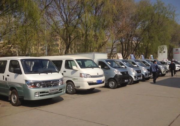 Jinbei van Chana Mini Truck Xining China 2016
