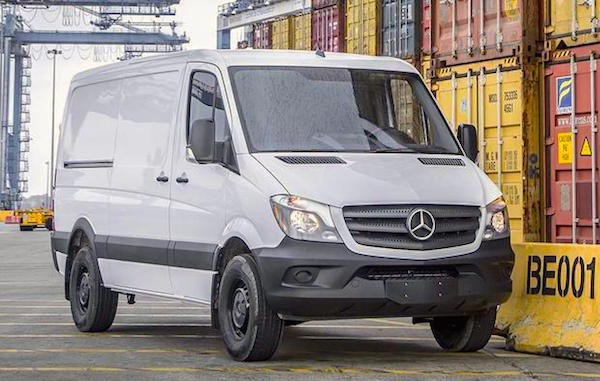 Mercedes Sprinter France June 2016