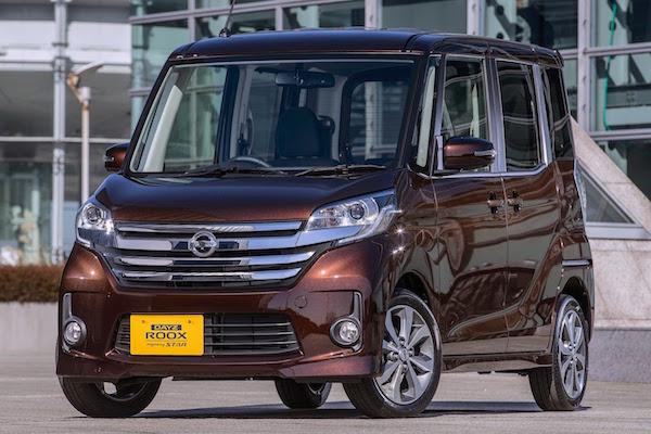 Nissan Dayz Japan June 2016