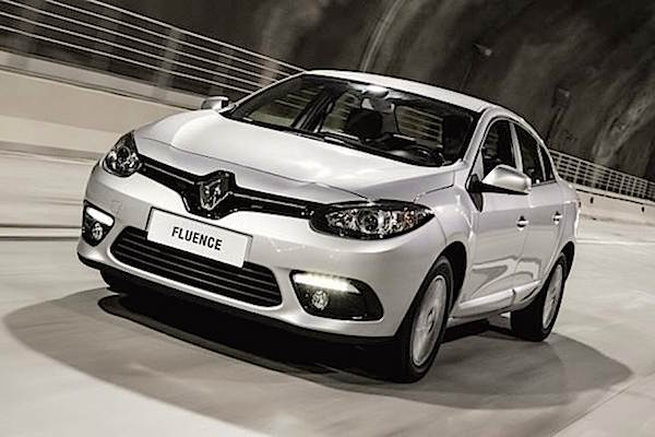 Renault Fluence Turkey June 2016