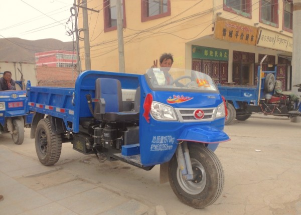 Three Wheeler Xiahe China 2016