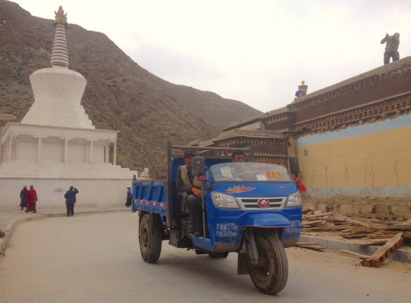 Three Wheeler Xiahe China 2016 Pic5