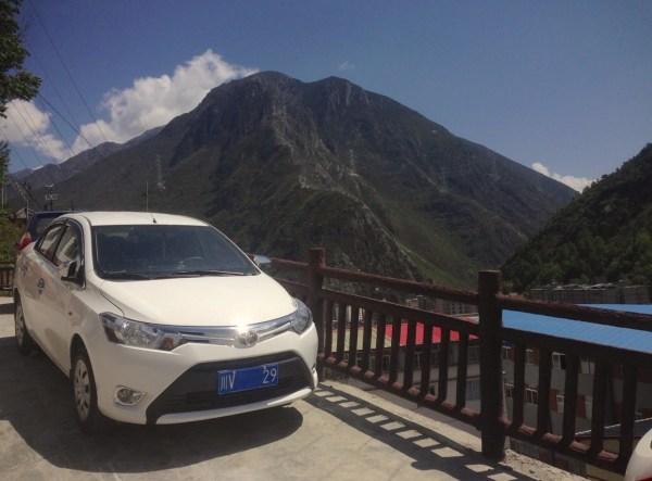 Toyota Vios Kangding China 2016
