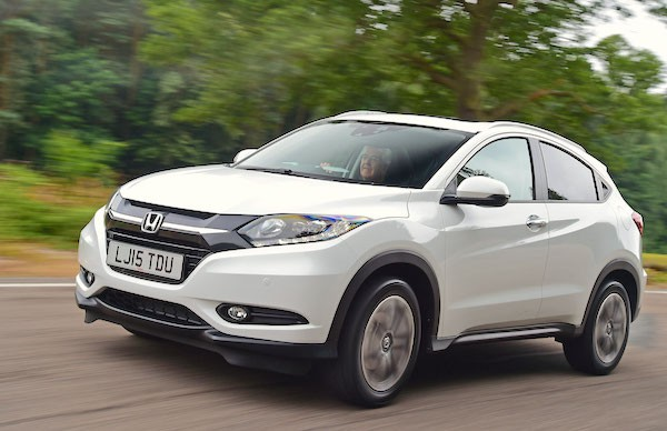Honda HR-V Singapore July 2016. Picture courtesy autoexpress.co.uk