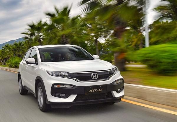 Honda XR-V China July 2016. Picture courtesy autohome.com.cn