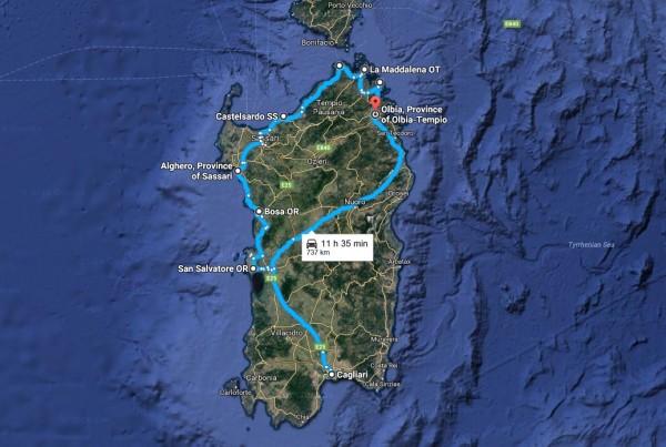 Photo Report: Driving a Fiat Panda through Sardinia, Italy ...