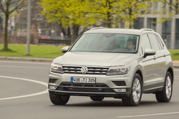 VW Tiguan Germany 2016