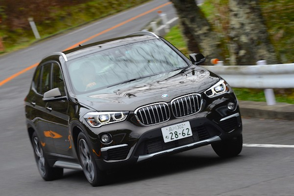 BMW X1 Japan August 2016. Picture courtesy autoc-one.jp