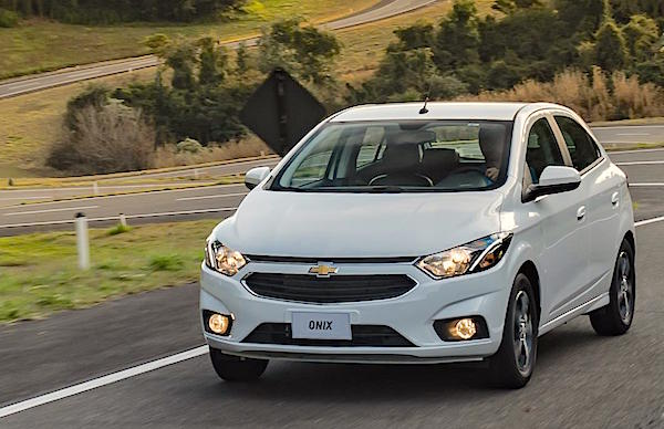 Chevrolet Onix Argentina July 2016