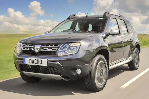 Dacia Duster Macedonia August 2016. Picture courtesy autocar.co.uk