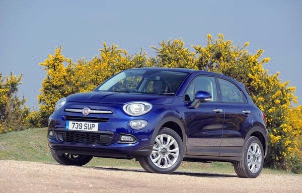 Fiat 500X UK August 2016. Picture courtesy dailyrecord.co.uk