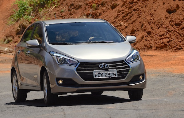 Hyundai HB20 Brazil October 2016
