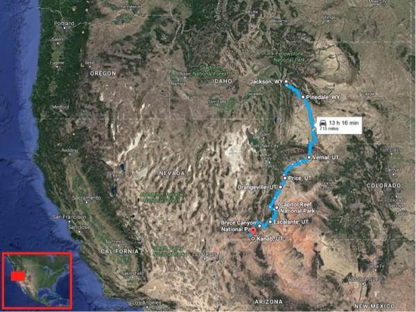 Jackson Kanab map
