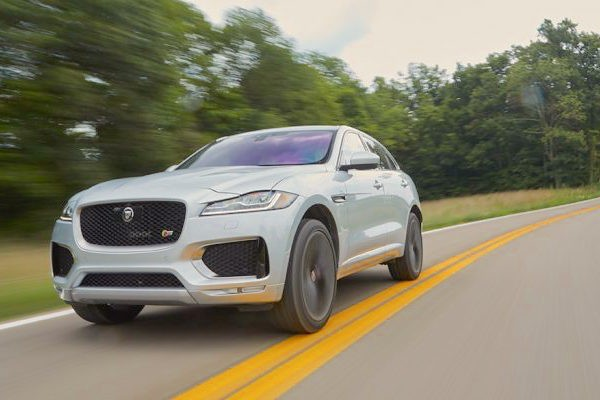 Jaguar F-Pace USA November 2016. Picture courtesy caranddriver.com