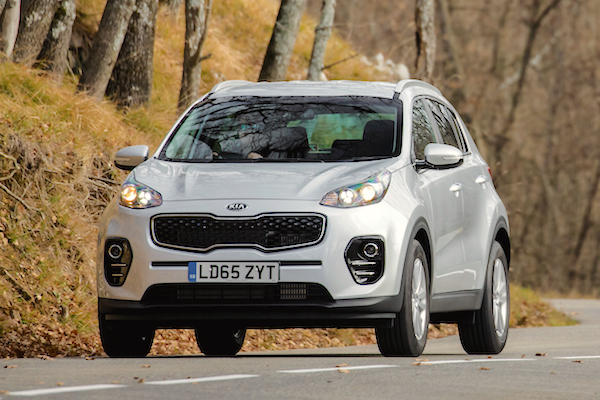 Kia Sportage UK August 2016