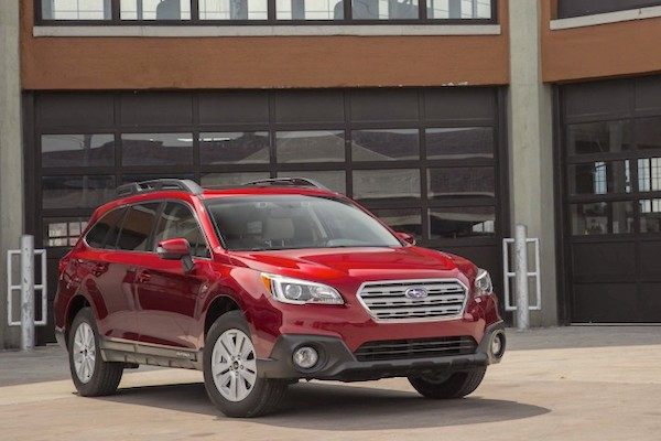 Subaru Outback USA 2016. Picture courtesy caranddriver.com