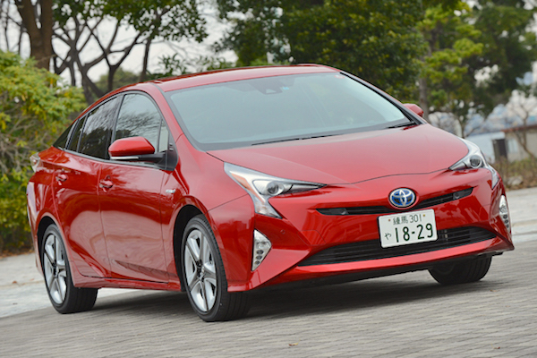 Toyota Prius Japan August 2016. Picture courtesy autoc-one.jp