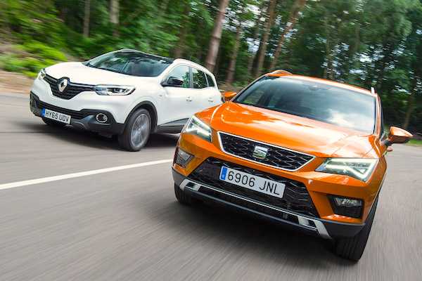 seat-ateca-renault-kadjar-spain-september-2016