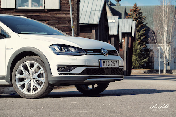 VW Golf Alltrack Sweden October 2016. Picture courtesy mullersvarld.se