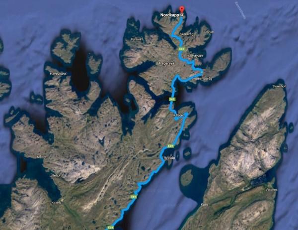nordkapp-road-detail