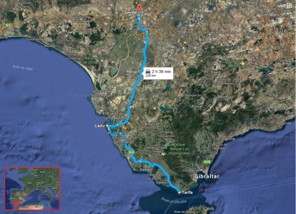 tarifa-sevilla-with-europe-map