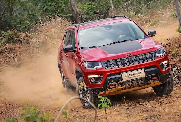Jeep Compass China December 2016