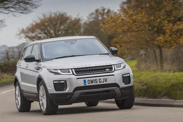 Range Rover Evoque UK 2016