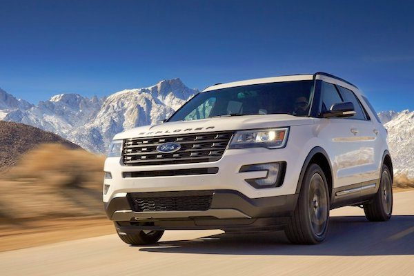 Ford Motor Is Up  Year On Year This Month With The Explorer Up