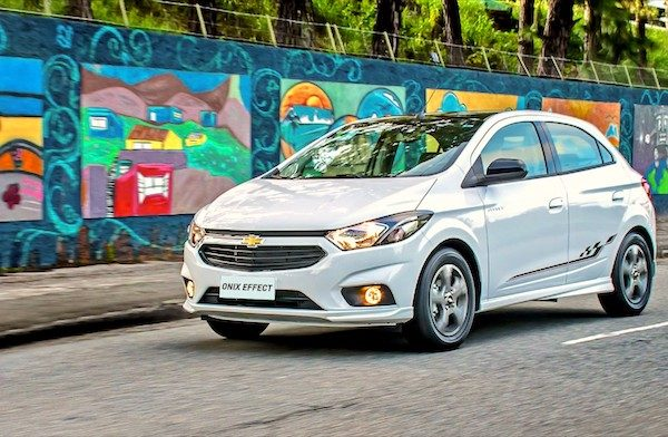 Brazil Full Year 2017 Chevrolet Onix Threepeats In Market Back Up