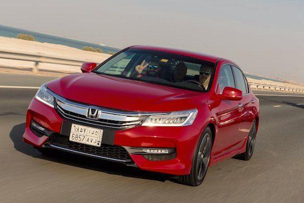 Saudi Honda Accord Sales Are Up  In November Picture Yallamotor Com