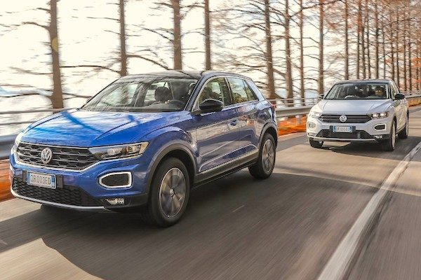 First Italian Top  Ranking For The Vw T Roc All Pictures Quattroruote It