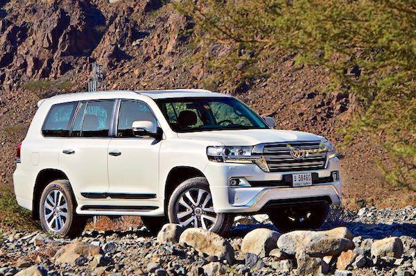 Bahrain First Half 2019 Toyota Land Cruiser Nissan Sunny Survive