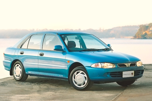 Malaysia 1994 Proton Wira Takes The Lead New Local Brand Perodua