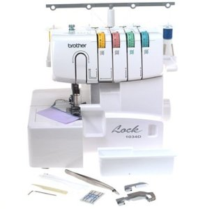 Brother 1034D Review - Serger Sewing Machine