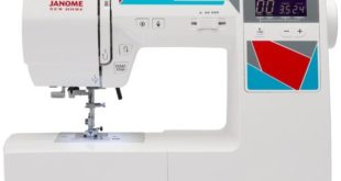 Janome MOD-100 Review - Computerized Sewing Machine