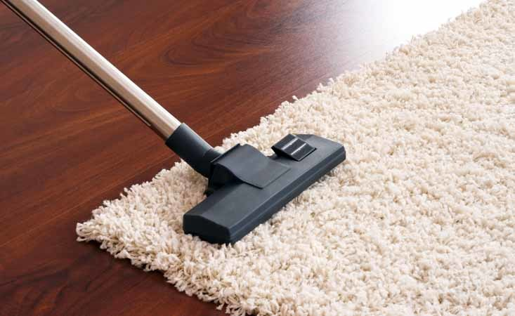 best way to clean carpets at home