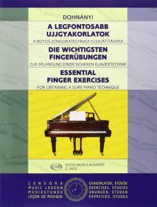 best technique book for piano