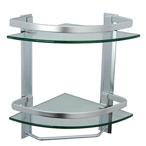 Review of Glass-based Bathroom Corner Shelves on Bathroom Corner Shelf  id=79021