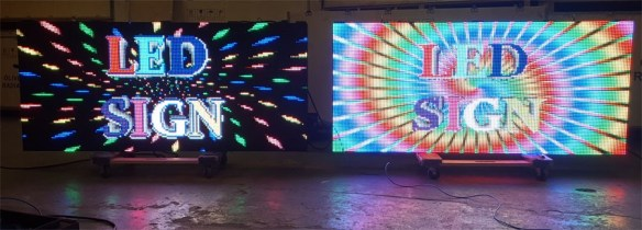 P-10 Full-Color LED Message Boards