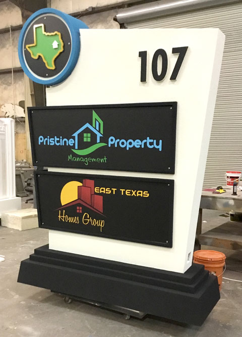 Monument Signs For Business - Pristine Property